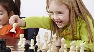 dziewczynka i szachy